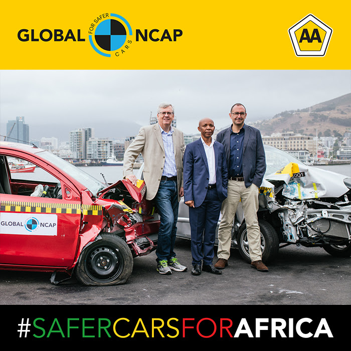 Global NCAP and AA South Africa launch #SaferCars for Africa